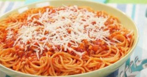 Zdjęcie główne #152 - Spaghetti ze ślimakami i serem