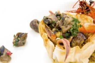 Zdjęcie główne #156 - Dania ze ślimaków w nowoczesnym cateringu
