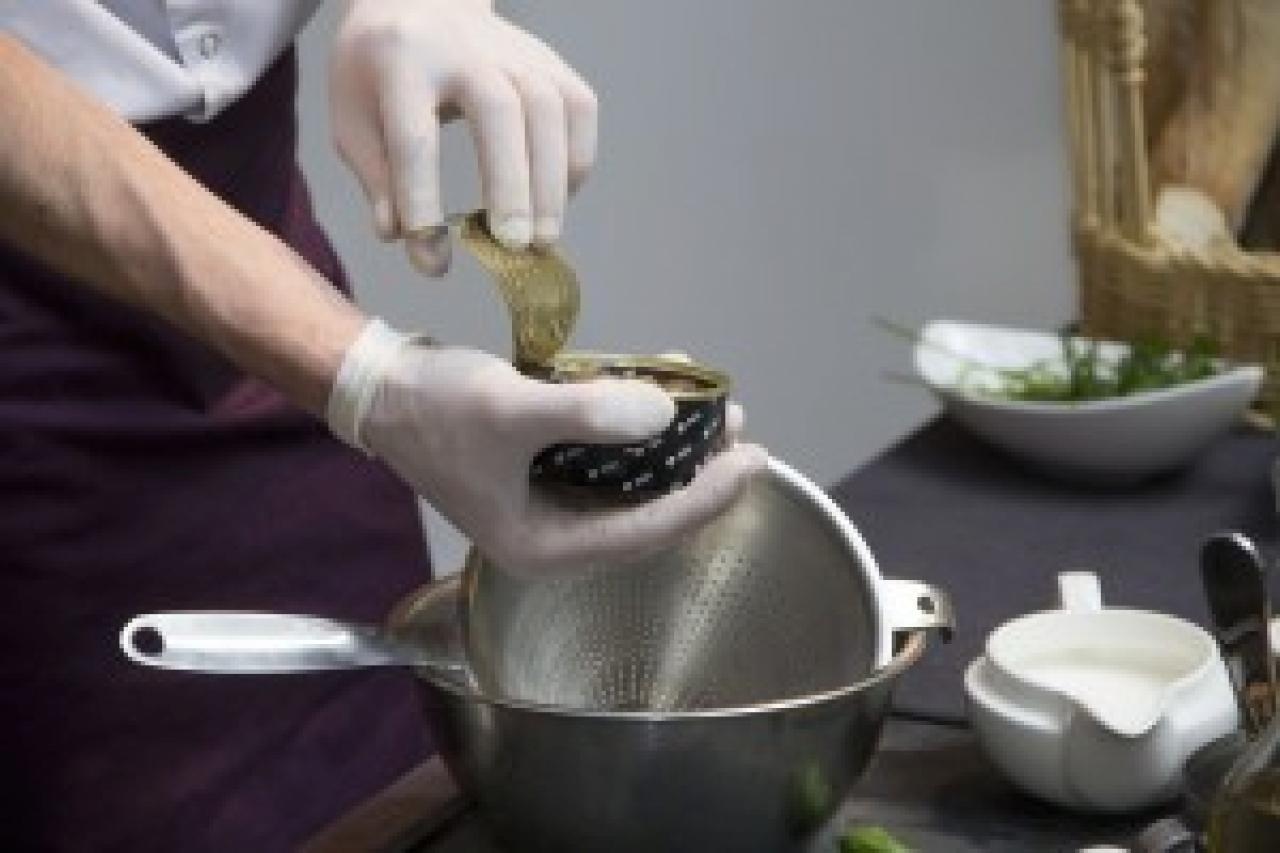 Zdjęcie główne #167 - Ślimaki z makaronem i pieczarkami w ziołowym sosie