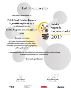 Zdjęcie główne #195 - PSH z nominacją do Polskiej Nagrody Innowacyjności